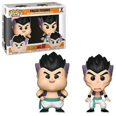 Funko Pop! Failed Fusions 2 Pk Dragon Ball Z Box Lunch Exclusives Limitd Gotenks