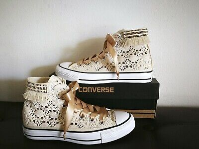 converse all star pizzo beige
