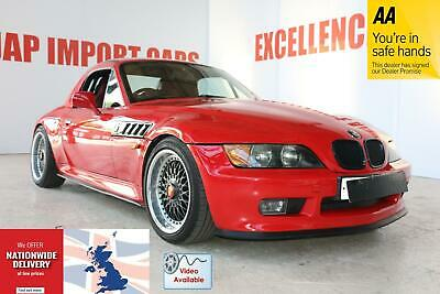 Bmw Z3 2.8 Convertible Roadster + Hardtop + Red Leather + Manual!