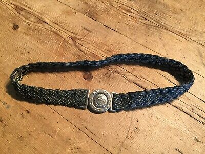 Vintage Rare Early Cotton Braid Boy Scout  Belt 28""