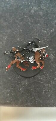MOUNTED RINGWRAITH Metal Lord of the Rings Evil Army Nazgul Ring Wraith