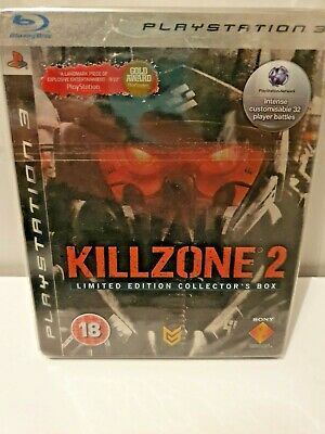KILLZONE 2 PS3/PlayStation 3 Exclusive Game Limited Collector' Edition+Steelbook
