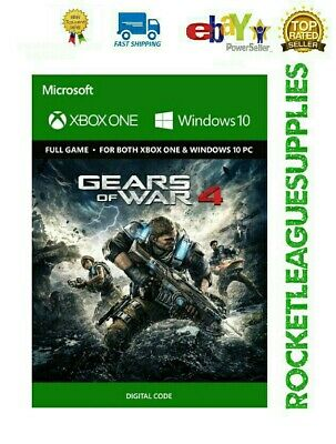 Gears of War 4 FULL GAME Digital Download Code DLC 🔑 for Xbox One / PC (GLOBAL)