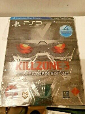 KILLZONE 3 PS3/PlayStation 3 Exclusive Game Limited Collector' Edition+Steelbook