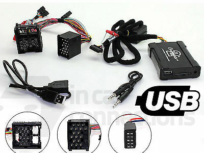 BMW USB Adapter 3 Serie E46 1999 - 2006 CTABMUSB007 Auto Aux SD Eingang MP3 Jack