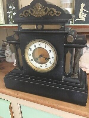 Very Old Mantel Clock. Marble Possibly