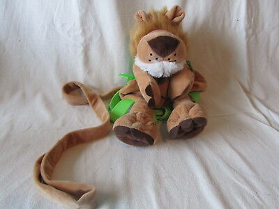 Toddler Rucksack With Safety Harness Reins - Animal Planet Lion