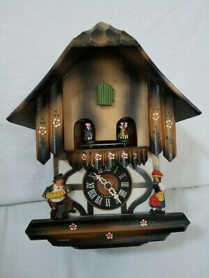 German Black Forest Chalet Cuckoo As Is Clock