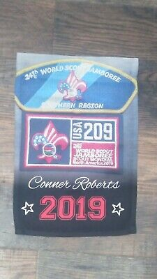 24th World Boy Scout Jamboree 2019 CMT  USA Contingent southern region banner