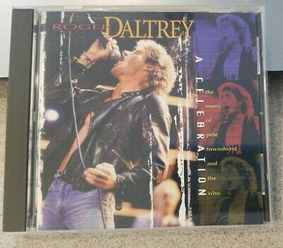Roger Daltrey: A Celebration: Music Of Pete Townshend And The Who (CD, 1998)MINT