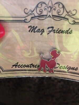 Mag Friends Accoutrement Designs PINK POODLE Needle Mindee