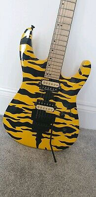 Jackson DK2M Tiger Yellow Guitar - Limited Edition