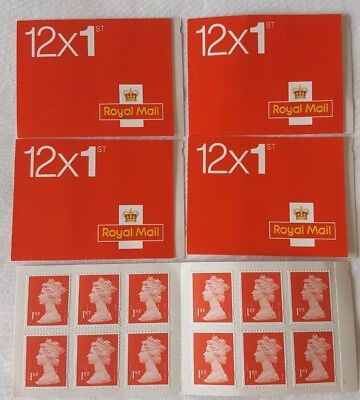 Royal Mail Stamps 10 x First Class Book of 12 Letter Stamps: 120 Stamps