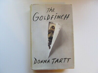 SIGNED h/b, THE GOLDFINCH by Donna Tartt, used