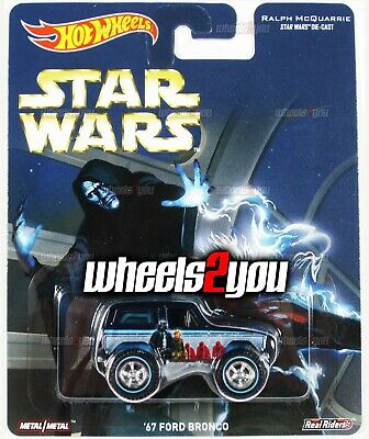 67 FORD BRONCO - Star Wars - 2016 Hot Wheels Pop Culture REAL RIDERS