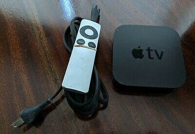 Apple TV A1469 3rd Generation w/ Remote and Power Cord