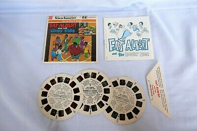 GAF VIEW-MASTER 'FAT ALBERT & COSBY KIDS' 3 DISC SET w/ SLEEVE & LEAFLET, B554