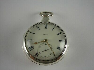 Antique English Rack and Pinion Lever Fusee key wind pocket watch. Made 1819