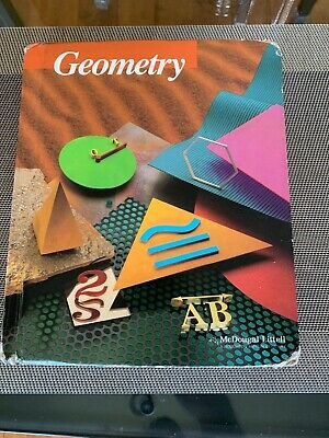 Geometry textbook McDougal Littell Hardcover