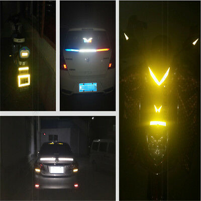 Reflective Stickers Safety Car Motorcycle Bike DIY Reflector Tape IT