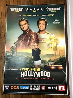 """Affiche Film """"Once Upon a Time in Hollywood"""" - Authentique Columbia Pictures"""