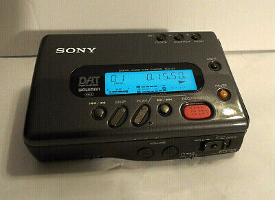 Sony Tcd-D7 - Portable Digital Audio Tape Recorder - Dat - With Remote & Box
