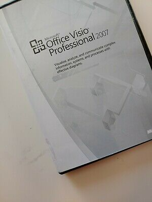 Microsoft Office Visio Professional 2007 Software With Product Key Home Version
