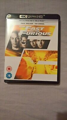 The Fast and the Furious  4K UHD Blu-Ray) [2018]