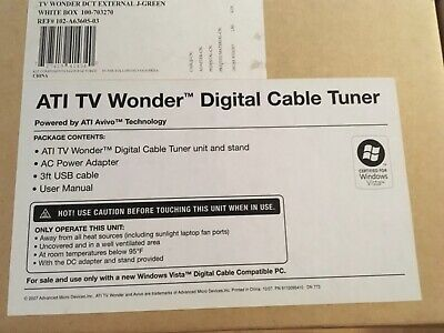 BRAND NEW** - ATI TV Wonder HD 600 Watch HDTV On Your PC And