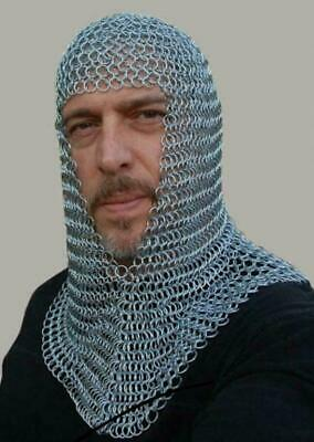 Armor Chainmail Coif For Battle Replica