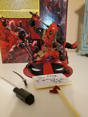 1//10 PVC Figure MK176 BRAND NEW SEALED Kotobukiya ARTFX DEADPOOL MARVEL NOW