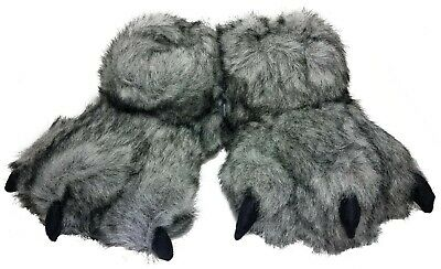 Soft Plush Furry Monster Sleepers Toddler Kids Boys Girls by Cat & Jack M/L 3-10