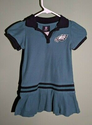 Philadephia Eagles NFL Team Apparel Kids Small Girls Dress NFL