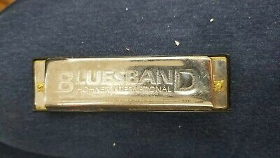 Hohner BluesBand Harmonica Key of C Blues Band Stainless Steel