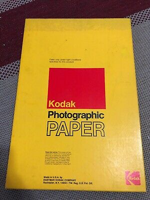 Vintage Kodak Photographic Polycontrast  RC Paper 12in x 18in - 100 Sheets