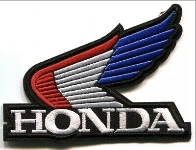 HONDA Patch Iron / Sew On Motorcycles Biker Racing ATV Drift Embroidered