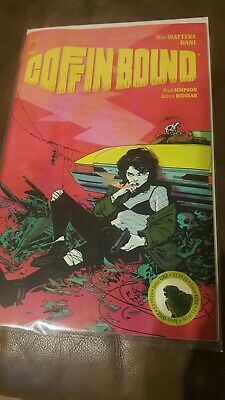 Coffin Bound #1 nm First Print Image Comics OUT OF PRINT! HOT!