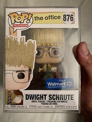 Funko Pop The Office Dwight Schrute As Hay King w/ Shumi Pop Protector
