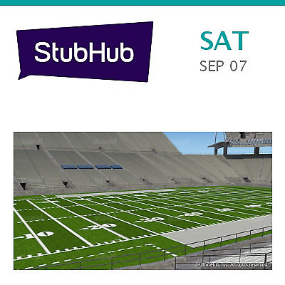 Buffalo Bulls at Penn State Nittany Lions Football Tickets - University Park