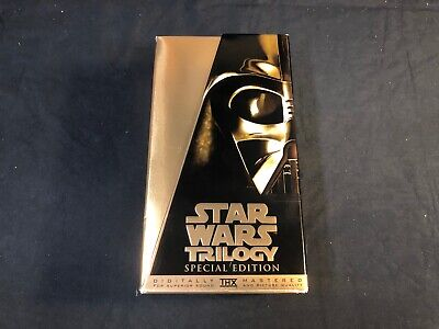 Star Wars Trilogy SPECIAL EDITION VHS Box Set