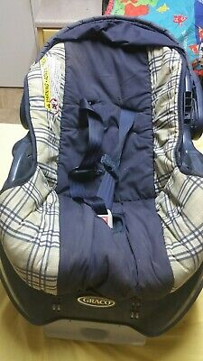 NEW BORN GRACO BABY Car Seat - Black pre-owned