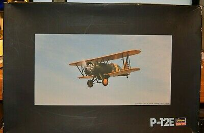 Hasegawa Boeing P-12E US ARMY AIR CORPS 1/32 + EXTRAS + BOOK CLOSE OUT