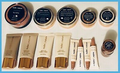 Nude By Nature Travel-Size Makeup Bundle & Pouch