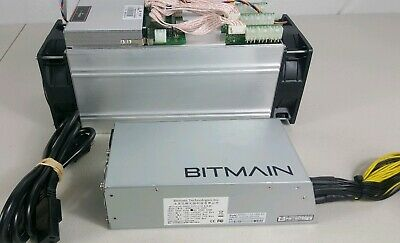 Bitmain Antminer S9 13 TH/s with PSU APW3++1600 - and power cord Free Shipping