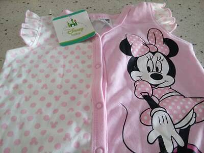 MINNIE  MOUSE SIZE 2  ROMPER, DISNEY BABY, Low fire danger, NEW  TAGS, GENUINE