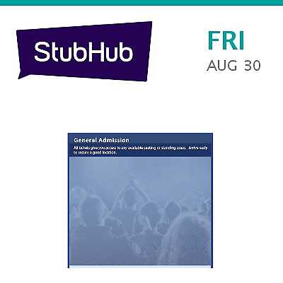 PARKING PASSES ONLY Dave Matthews Band Tickets - George