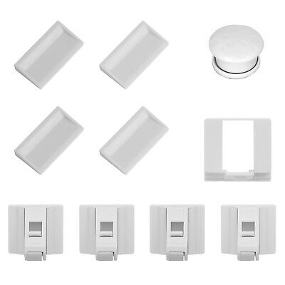 4x Magnetic Child Lock Cupboard Invisible Cupboard Security Lock Baby Protection