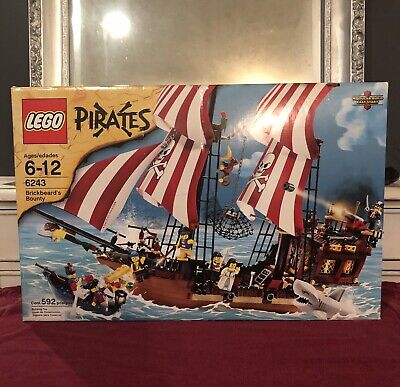 PearlLtGold panes 60607//Set 6243 Brickbeard/'s bounty Fenetre LEGO window 60594