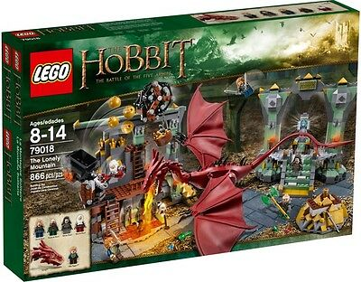 LEGO THE HOBBIT / LOTR  79018 The Lonely Mountain with Dragon SMAUG  Neuf / NEW