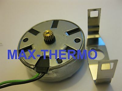 motor saia for timer FIBER motor kit pinion ø 6,8mm 15 teeth - 24VAC be sure 24v